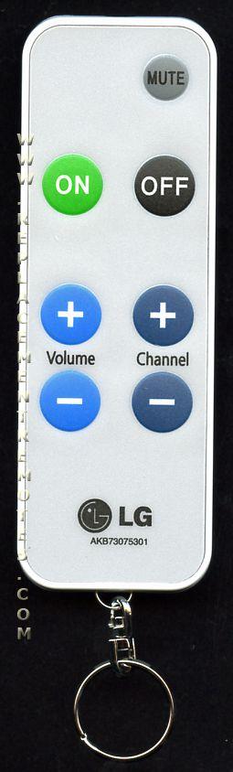 Buy Lg Akb73075301 Keychain Bed Akb73075301 Tv Remote Control