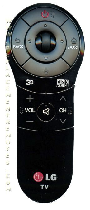 LG ANMR400G TV Remote Control