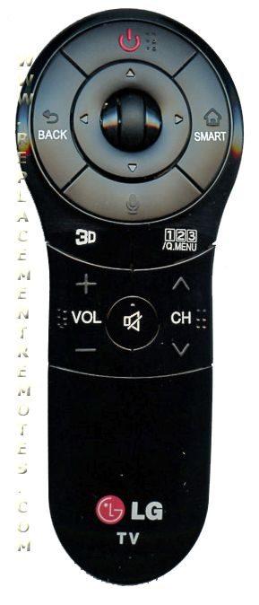 LG ANMR400G Remote Control