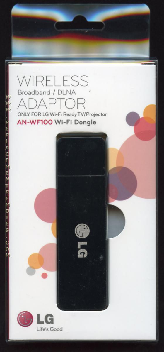 buy lg an wf100 anwf100 wifi dongle eat60713302 remote. Black Bedroom Furniture Sets. Home Design Ideas