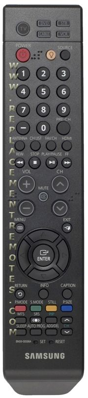 SAMSUNG BN5900598A TV Remote Control