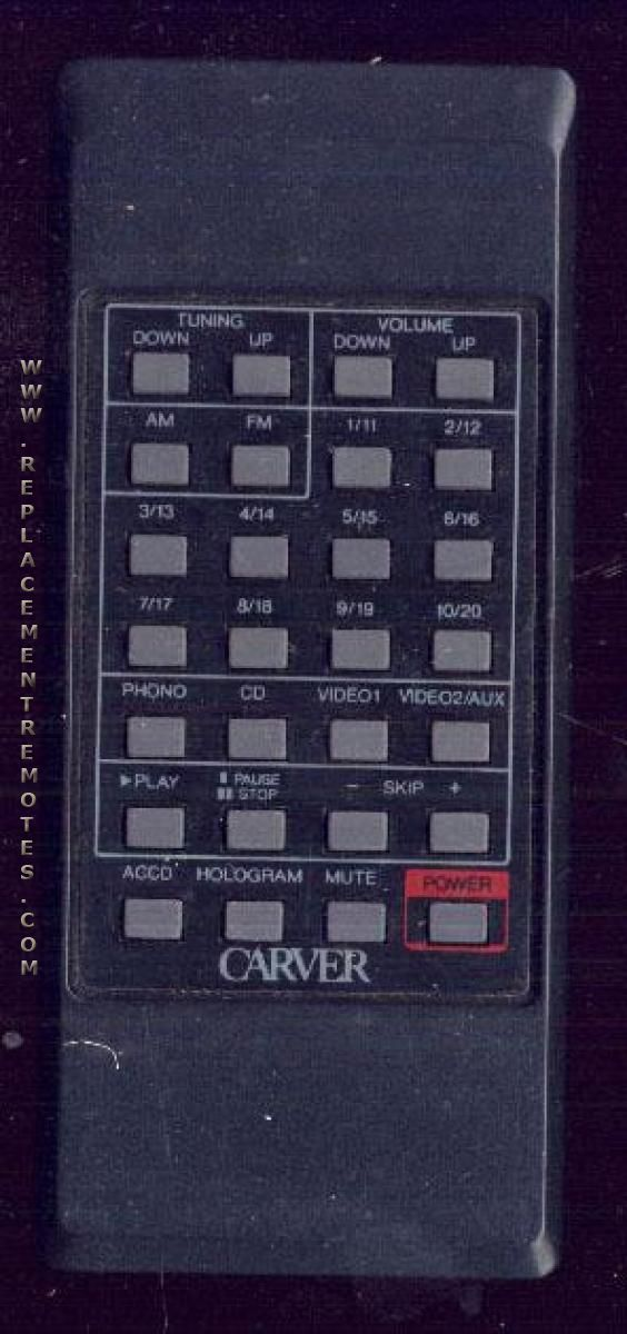 Buy Carver Rh75 Remote Control