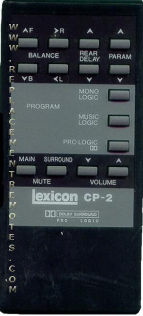 Buy Lexicon Cp2 75006882 Remote Control