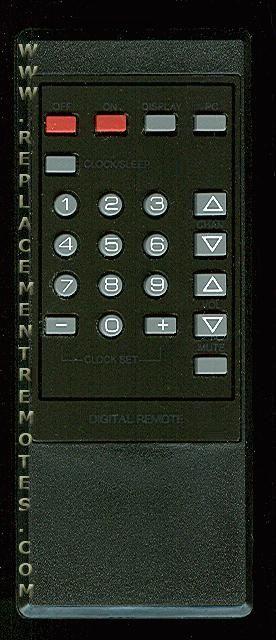 RCA CRKCPH TV Remote Control