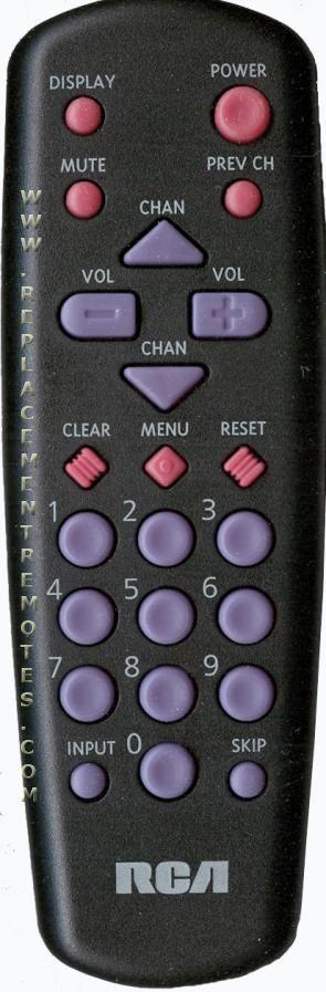 RCA CRK10A1 TV Remote Control