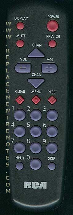 RCA CRK10A2 TV Remote Control
