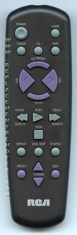 RCA CRK290 Audio System Remote Control
