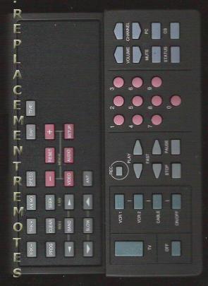 RCA CRK55R TV Remote Control