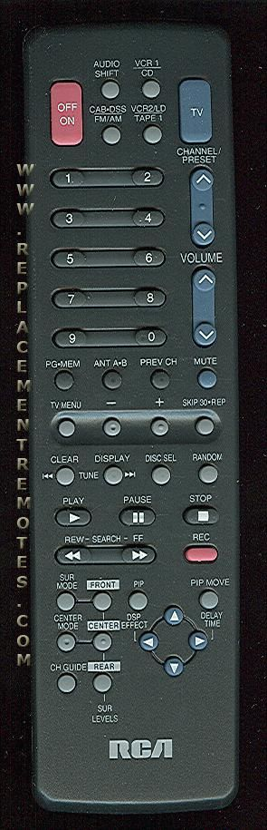 RCA CRK62S2 Remote Control