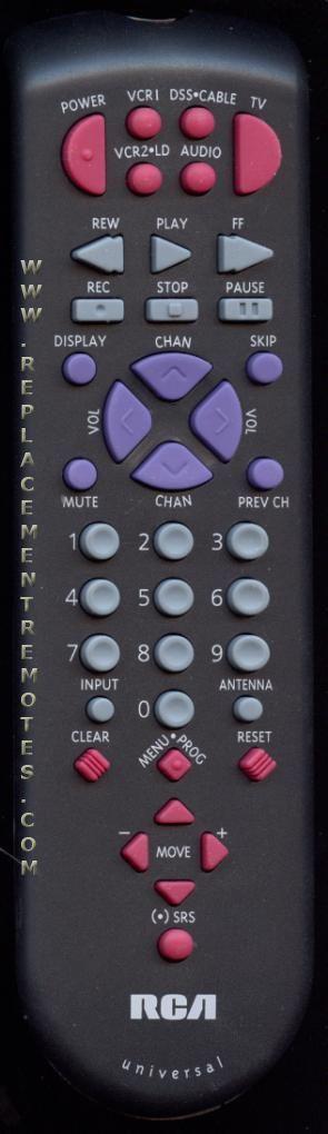 RCA CRK70E1 TV Remote Control