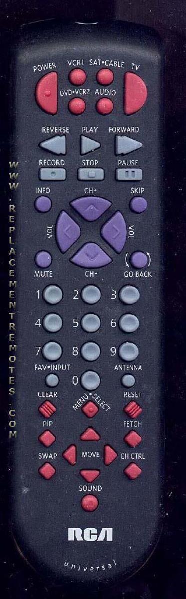 RCA CRK70N1 TV Remote Control