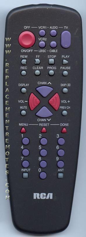 RCA CRK71B2 TV Remote Control
