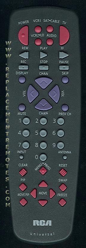 RCA CRK74AA3 TV Remote Control