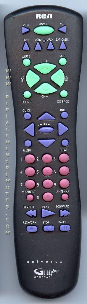 RCA CRK76TE1 TV Remote Control