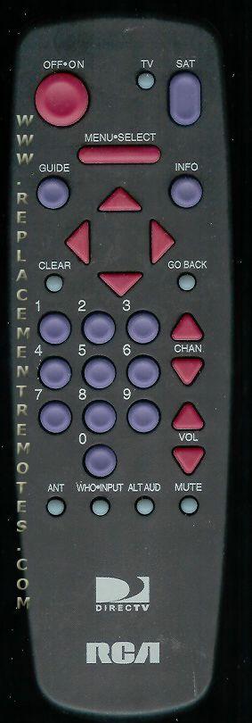 RCA CRK91T1 TV Remote Control