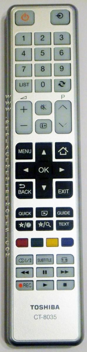 Buy TOSHIBA CT9035 TV Remote Control