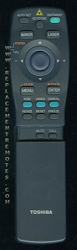 TOSHIBA CT90009 Remote Control