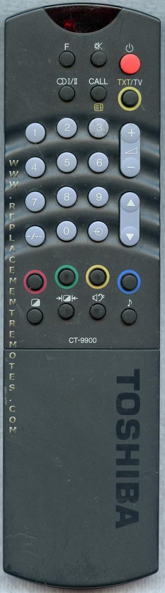 TOSHIBA CT9900 Remote Control
