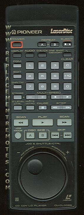 PIONEER CUCLD068 Remote Control