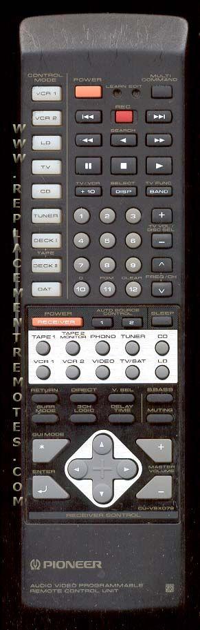 Buy Pioneer Cuvsx079 Axd1394 Remote Control