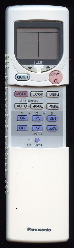 Panasonic CWA75C2297 Air Conditioner Unit Remote Control