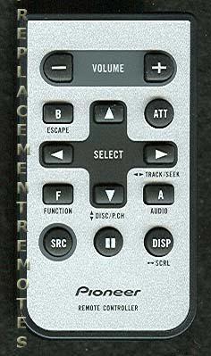 buy pioneer cxc5719 car audio system remote control rh replacementremotes com pioneer cxc5719 manual user manuals pioneer cxc5719 user manual