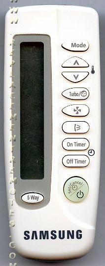 Buy Samsung Db93 03013b Arh445 Db9303013b Air Conditioner Unit Remote Control