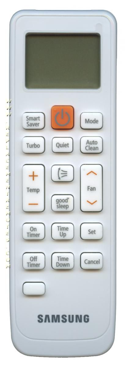 buy samsung db93 11115k db9311115k air conditioner unit remote control rh replacementremotes com samsung air conditioner remote control user manual Samsung Air Conditioner Remote Control Manual