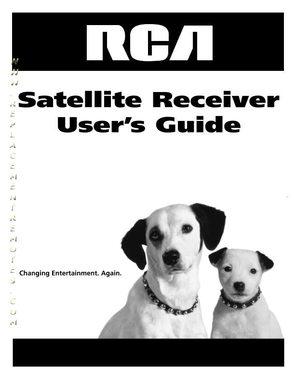 RCA DRD455RH DSM735RH OM Operating Manual
