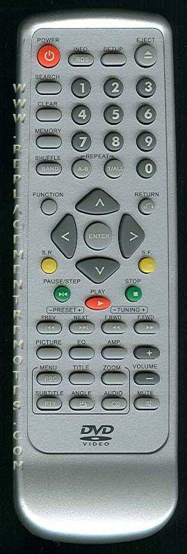 Buy Audiovox Rcnn229 Dvd Player Remote Control