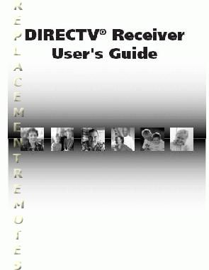 Buy Directv Dtvsystemom Operating Manual