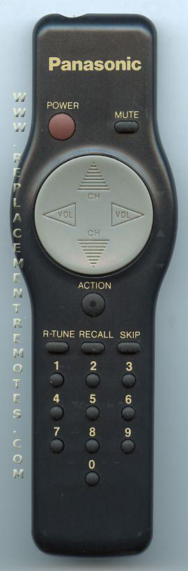 Panasonic EUR501050A TV Remote Control