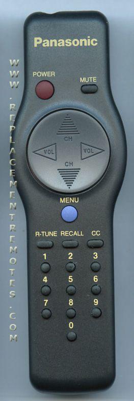 Panasonic EUR501053 Remote Control