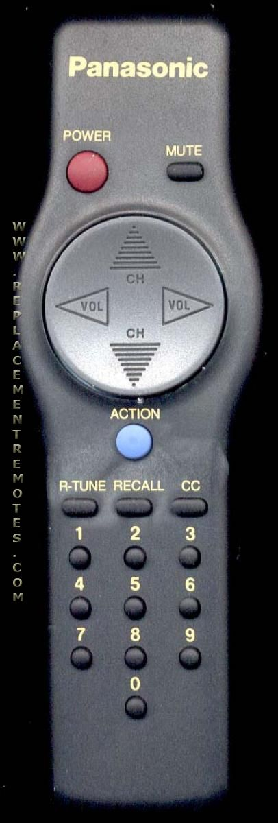 Panasonic EUR501057 TV Remote Control