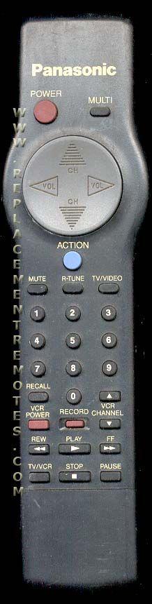 Panasonic EUR501200 TV Remote Control