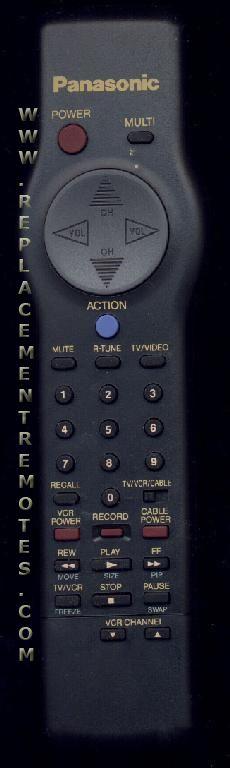 Panasonic EUR501220 TV Remote Control