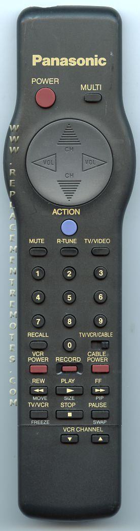 Panasonic EUR501222 TV Remote Control