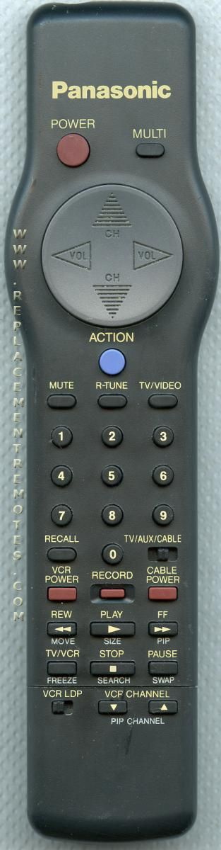 Panasonic EUR501230 TV Remote Control