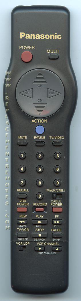Panasonic EUR501232 TV Remote Control