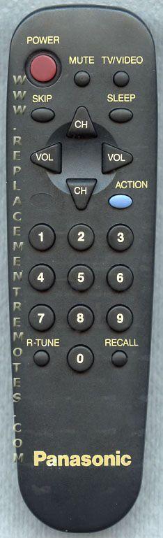 Panasonic EUR501331 TV Remote Control