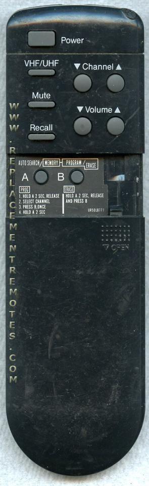Panasonic EUR50510 TV Remote Control
