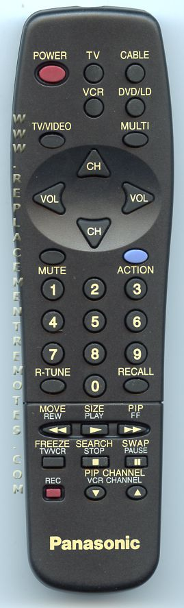 Panasonic EUR511110 TV Remote Control