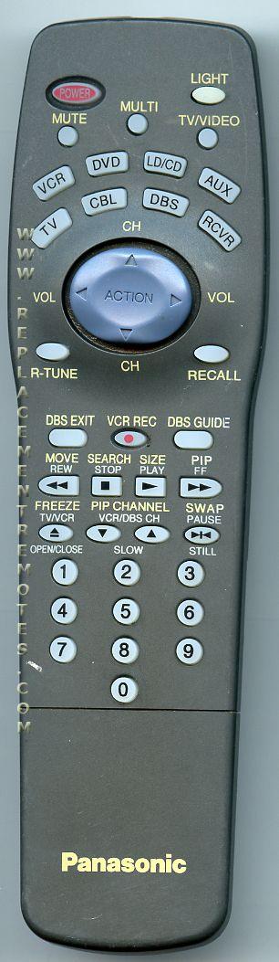 Panasonic EUR511151C TV Remote Control