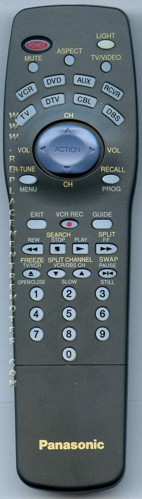 Panasonic EUR511165 TV Remote Control