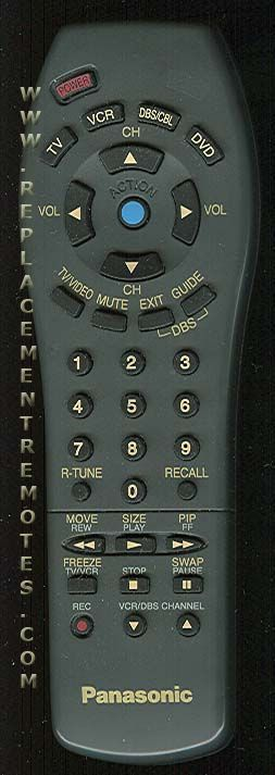 Panasonic EUR511511 TV Remote Control
