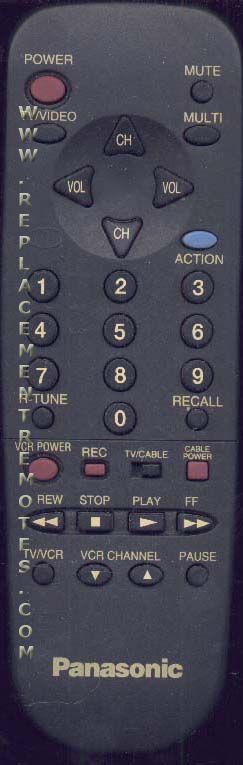 Panasonic EUR511U00A Remote Control