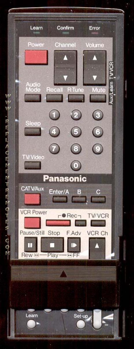 Panasonic EUR51533 TV Remote Control