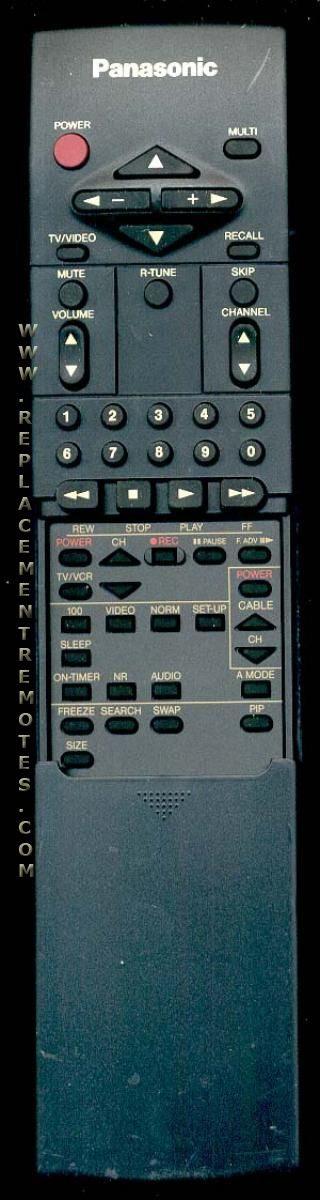 Panasonic EUR51709 Remote Control