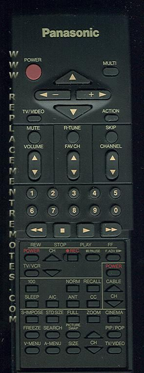 Panasonic EUR51751 Remote Control