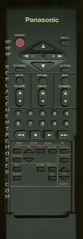 Panasonic EUR51764 Remote Control